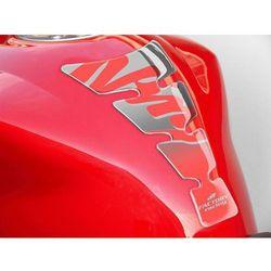 Tankpad PUIG Spirit, wzór Kawasaki Ninja (srebrny)