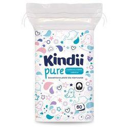 Płatki dla niemowląt Cleanic Kindii Baby Sensitive (60 sztuk)