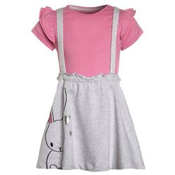 mothercare BE NICE BUNNY SKIRT SET Spódnica trapezowa grey marl