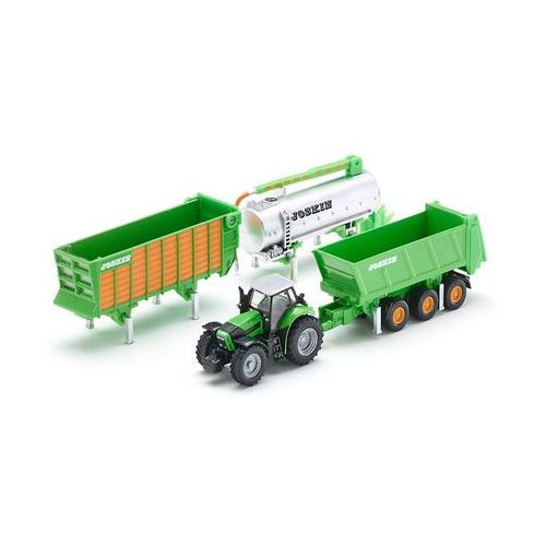 Traktory dla dzieci, SIKU Traktor z Zestawem Przyczep Joskin