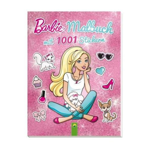 Bajki, Barbie - Malbuch mit 1001 Stickern