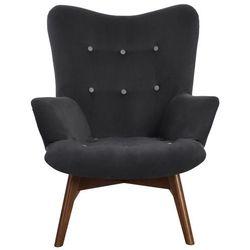 Krzesło Angel fotel ciemno szary