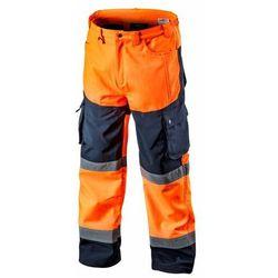 Spodnie robocze SOFTSHELL pomarańczowe XXXL NEO