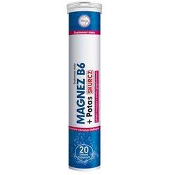 Magnez B6 + Potas Skurcz x 20 tabletek musujących