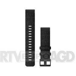 Garmin pasek fenix 6 22mm QuickFit Heathered Black Nylon Band 010-12863-07 (fioletowo-czarny)