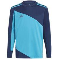 Odzież do sportów drużynowych, Bluza bramkarska dla dzieci adidas Squadra 21 Goalkepper Jersey Youth niebiesko-granatowa GN6947