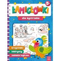 Książki dla dzieci, Łamigłówki dla bystrzaka. krzyżówki, labirynty, zadania logiczne (opr. miękka)