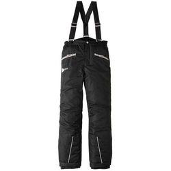 Spodnie chłopięce narciarskie, nieprzemakalne i oddychające bonprix czarny