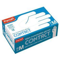 Rękawice lateksowe PACLAN M - - 100 szt.