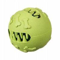 Piłki dla dzieci, Piłka szczęka kauczukowa na przysmaki M - green