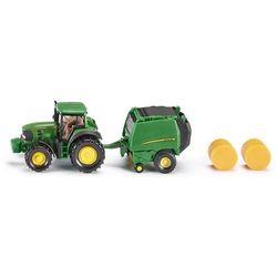 Siku, Traktor John Deere z prasą, model