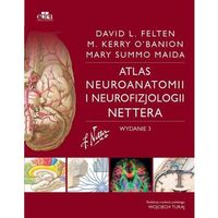 Książki medyczne, Atlas neuroanatomii i neurofizjologii Nettera WYDANIE 3 NOWE (opr. miękka)