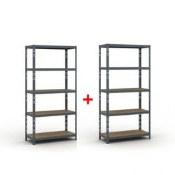 Regał półkowy 1800 x 900 x 400, nośność 175 kg 1+1 GRATIS Włóż do koszyka jedną sztukę, drugą sztukę wyślemy automatycznie gratis. Akcja trwa do wyprzedania zasobów.