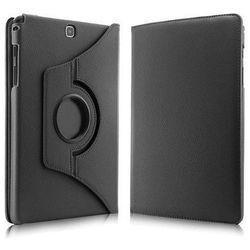 Czarne etui skórzane PU Stand Cover Galaxy Tab A 9.7 T550 - Czarny