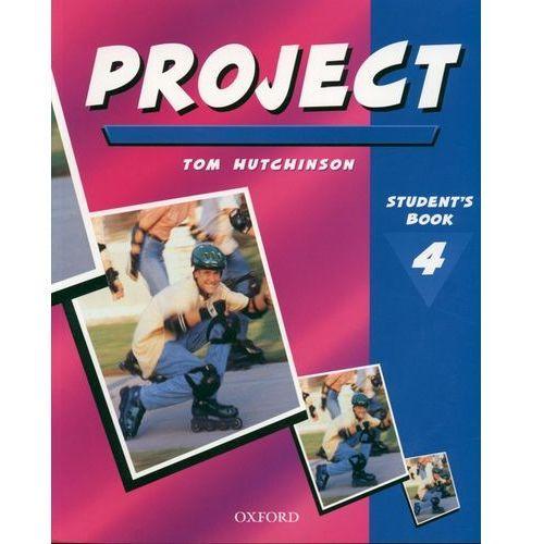 Książki do nauki języka, Project 4-podręcznik (opr. broszurowa)