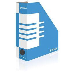 Pojemnik na dokumenty (czasopisma) Donau A4 niebiesko-biały (7648001PL-10)