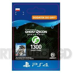 Tom Clancy's Ghost Recon: Breakpoint 1300 Ghost Coins [kod aktywacyjny] PS4
