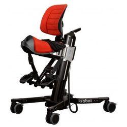 Krabat Jockey mobilne siedzisko siodłowe fotelik rehabilitacyjny wielofunkcyjny