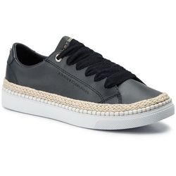 Espadryle TOMMY HILFIGER - Tommy Jute City Sneaker FW0FW04145 Midnight 403