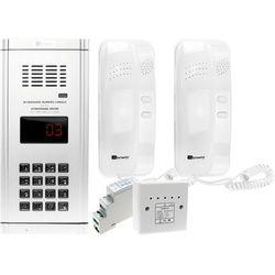 Zestaw domofonowy 2 rodzinny WL-03NL z daszkiem