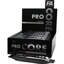 Baton wysokobiałkowy FITNESS AUTHORITY Pro Core Protein Bar 80g, Smaki: Wanilia Najlepszy produkt Najlepszy produkt tylko u nas!