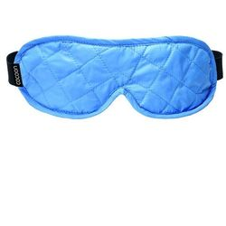 Opaska na oczy + stopery Cocoon Eye Shades - Light blue/Grey