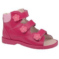 Trzewiki Profilaktyczne Ortopedyczne Buty DAWID 953-3 RC Różowe - Różowy ||Fuksja ||Multikolor
