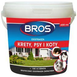 BROS odstrasza krety, psy i koty 350 ml + 100 ml GRATIS