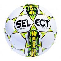 Piłka nożna, Piłka halowa Select Futsal Samba IMS biało-zielona