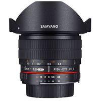 Obiektywy do aparatów, Obiektyw Samyang 8mm F3.5 H.D Nikon AE (F1121903101) Darmowy odbiór w 20 miastach!