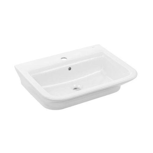 Umywalki, Umywalka 60x47 cm nablatowa/ścienna biała Roca Gap A327474000