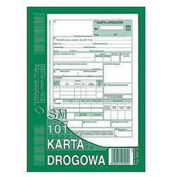 Karta drogowa A5 80k numerowana Michalczyk i Prokop 802-3N (samochód osobowy SM/101)