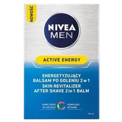 NIVEA 100ml Men Skin Energy Balsam po goleniu dla mężczyzn