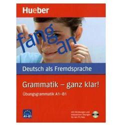 Grammatik – Ganz Klar! + CD (opr. miękka)