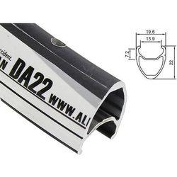 ALX-DA2236S Obręcz AlexRims DA22 28'' 36H CNC czarna