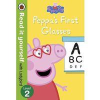 Książki dla dzieci, Peppa Pig Peppa`s First Glasses Read it yourself with Ladybird Level 2 (opr. twarda)