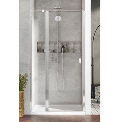 Radaway Nes DWJ II Drzwi wnękowe 120 cm lewe, szkło przejrzyste, wys. 200 cm. 10036120-01-01L