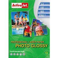 Papiery fotograficzne, Activejet papier fotograficzny błyszczący A4 100 szt 160g (AP4-160G100L) Darmowy odbiór w 20 miastach!