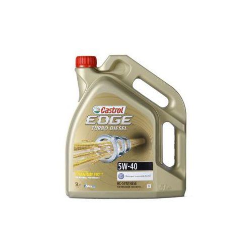 Oleje silnikowe, Castrol EDGE Titanium FST Turbo Diesel 5W-40 5 Litr Pojemnik