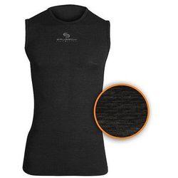 Koszulka unisex Base Layer bez rękawów SL10100 Brubeck (Kolor: Biały, Rozmiar: L)