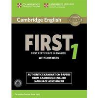 Językoznawstwo, Cambridge English First 1. Podręcznik z Kluczem + CD (opr. miękka)