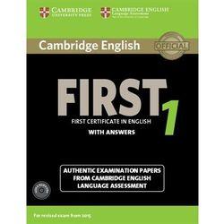 Cambridge English First 1. Podręcznik z Kluczem + CD (opr. miękka)