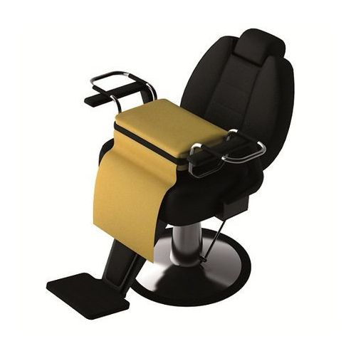 Meble fryzjerskie, Panda 123 siedzisko, puf dla dzieci.