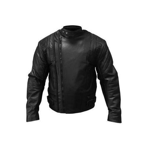 Kurtki motocyklowe męskie, KURTKA SKÓRZANA MĘSKA PROSPEED BLACK