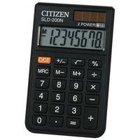 Kalkulatory, Kalkulator kieszonkowy Citizen SLD-200 - ★ Rabaty ★ Porady ★ Hurt ★ Autoryzowana dystrybucja ★ Szybka dostawa ★