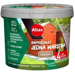 Impregnat Altax Drewno Beton piaskowiec 10 l