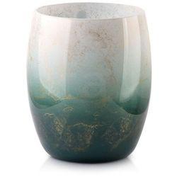 Cristie wazon BECZKA zielono-biała