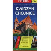 Mapy i atlasy turystyczne, Kwidzyn, Chojnice. Plan miasta w skali 1:12 000. Europilot wersja plastik (opr. broszurowa)