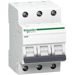 Wyłącznik nadprądowy Schneider Acti 9 3P C 6A AC iC60N A9K02306