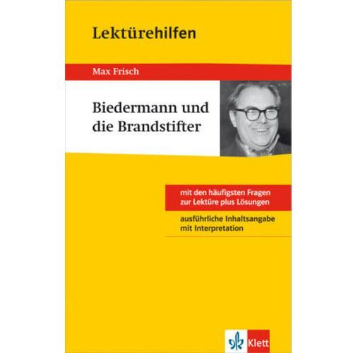 Pozostałe książki, Lektürehilfen Max Frisch 'Biedermann und die Brandstifter' Frisch, Max